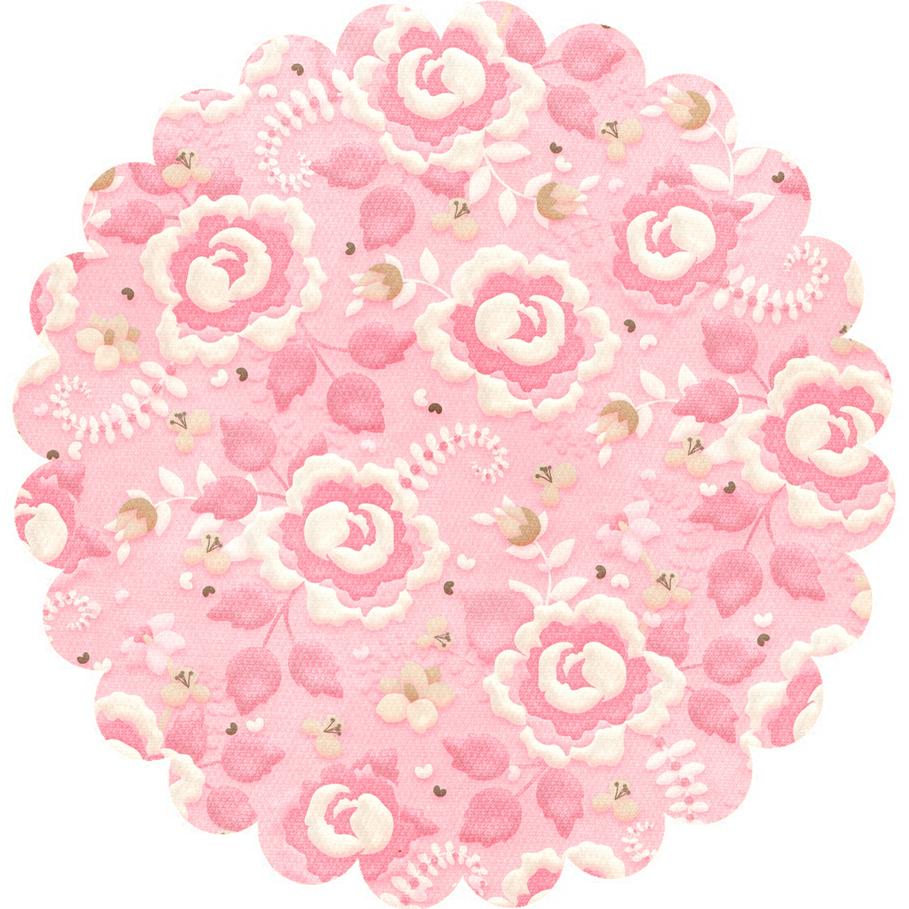 Flores Para Decorar Tapas Redondas