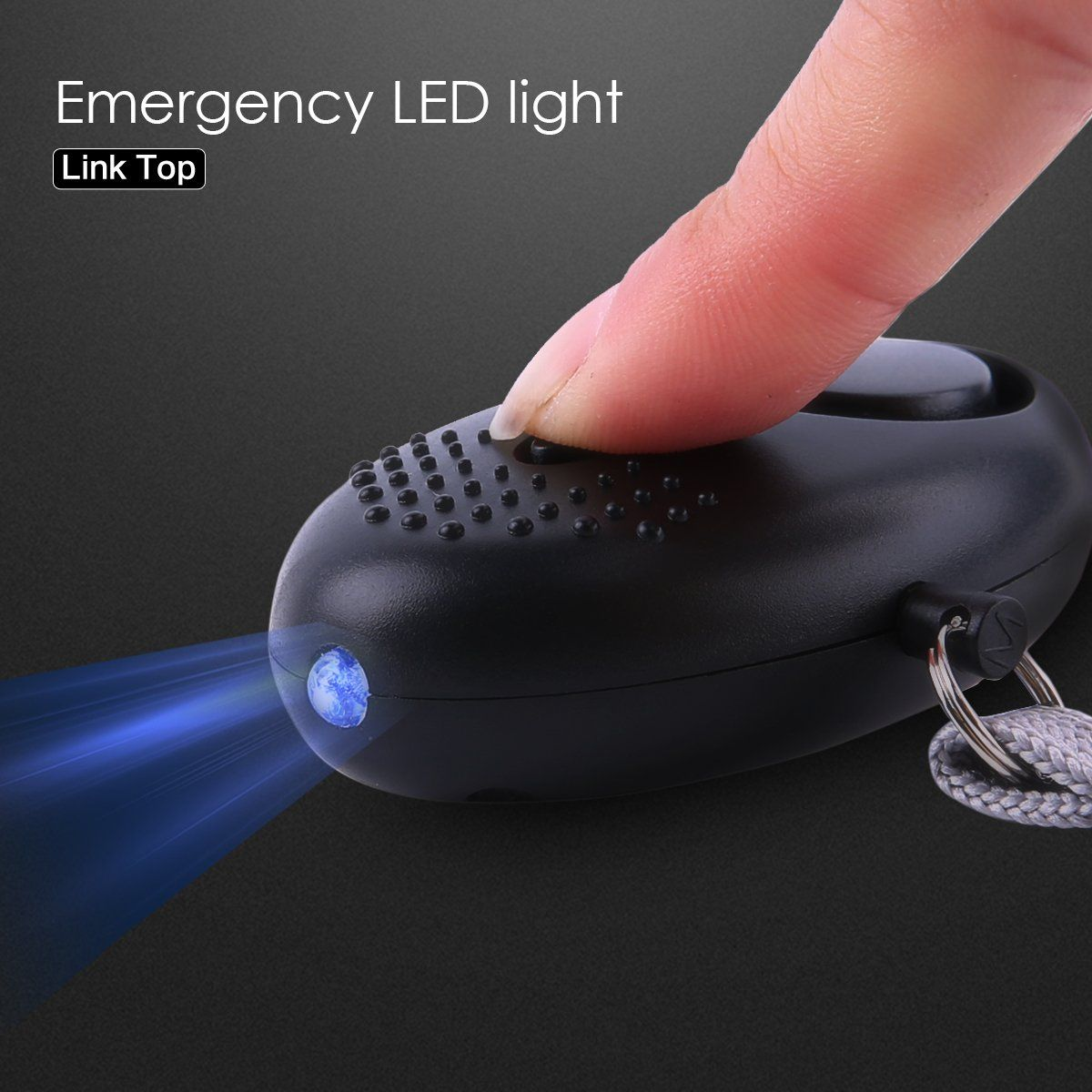 Personal Alarm Keychain Alarmssafety and Self Defense