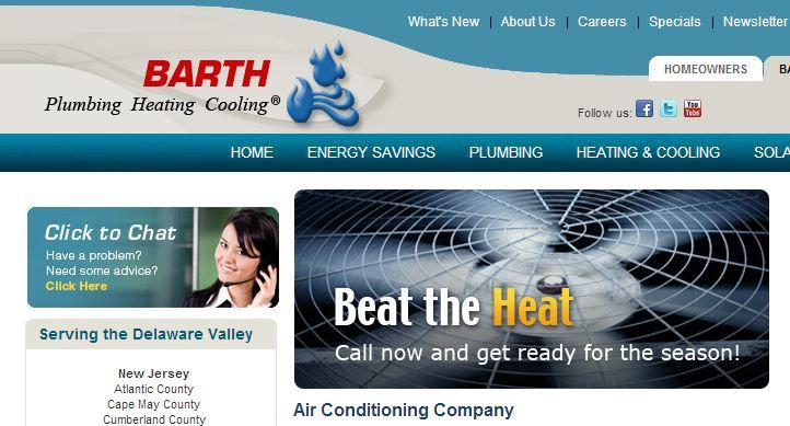 Barth Is Part Of Hutchinson Plumbing Heating Cooling And Is One