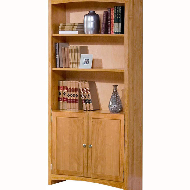 Arc Bookcase With Doors W Wood Furniture Store Bookcase With Glass Doors Bookcase