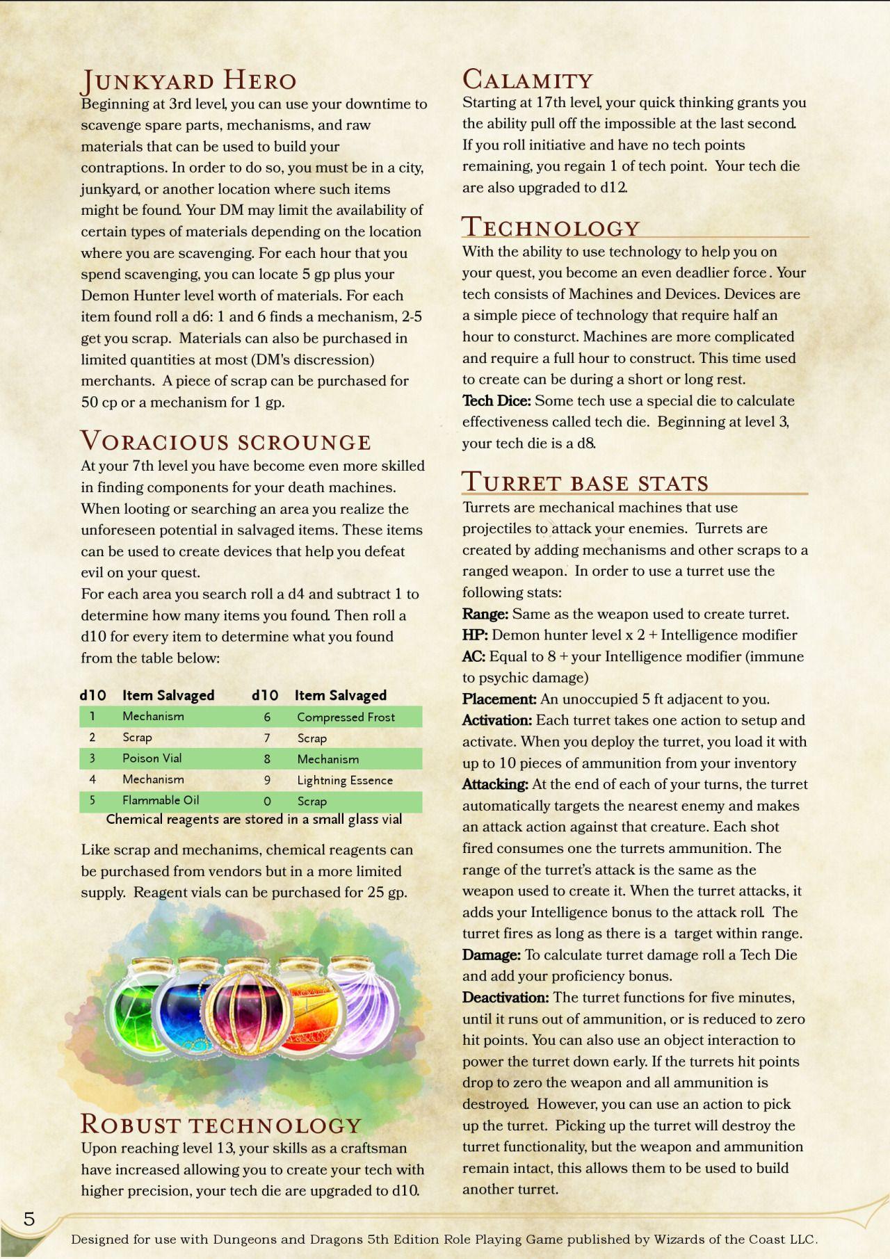 DnD 5e Homebrew — Monsters by Stonestrix | DM Ideas | Demon