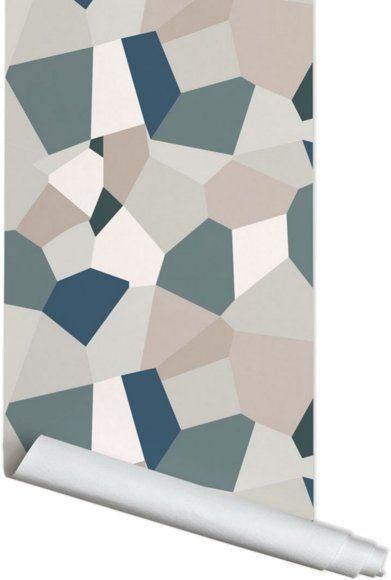 Papier peint gris 3 m Eclats - PaperMint (avec images) | Papier peint gris, Papier peint