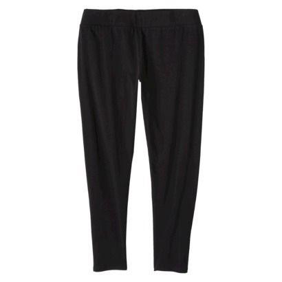 Junior's Plus Size  Basic Legging Pant Black