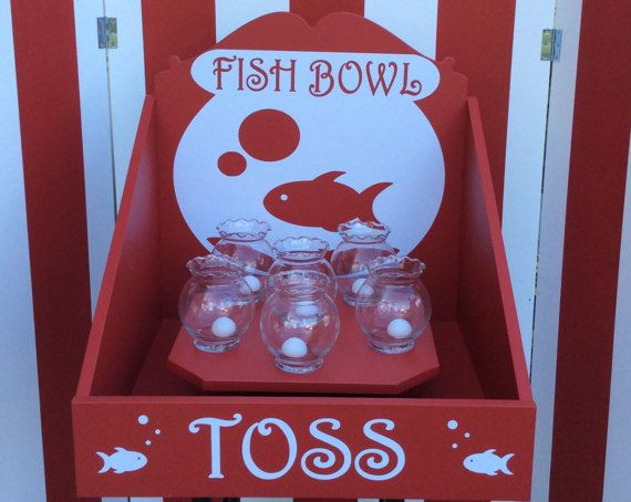 Fish Bowl Toss Carnival Game Target Gallery Company