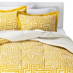 Room Essentials� Maize Geo Comforter Set - Yellow