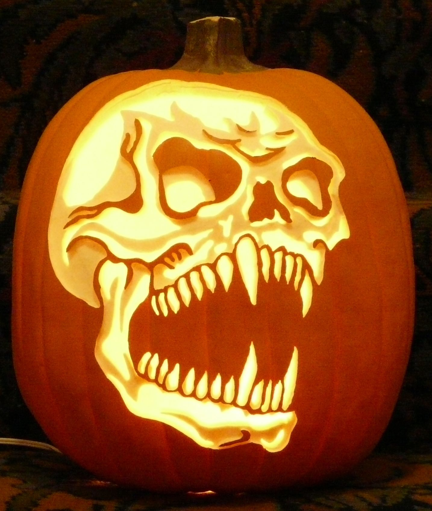 disturbed logo pumpkin carving patterns - HD 1434×1697