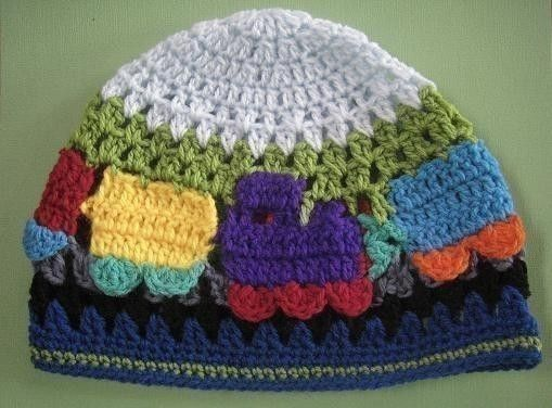 Sugar Cane Train Beanie and Scarf crochet pattern | Pinterest ...