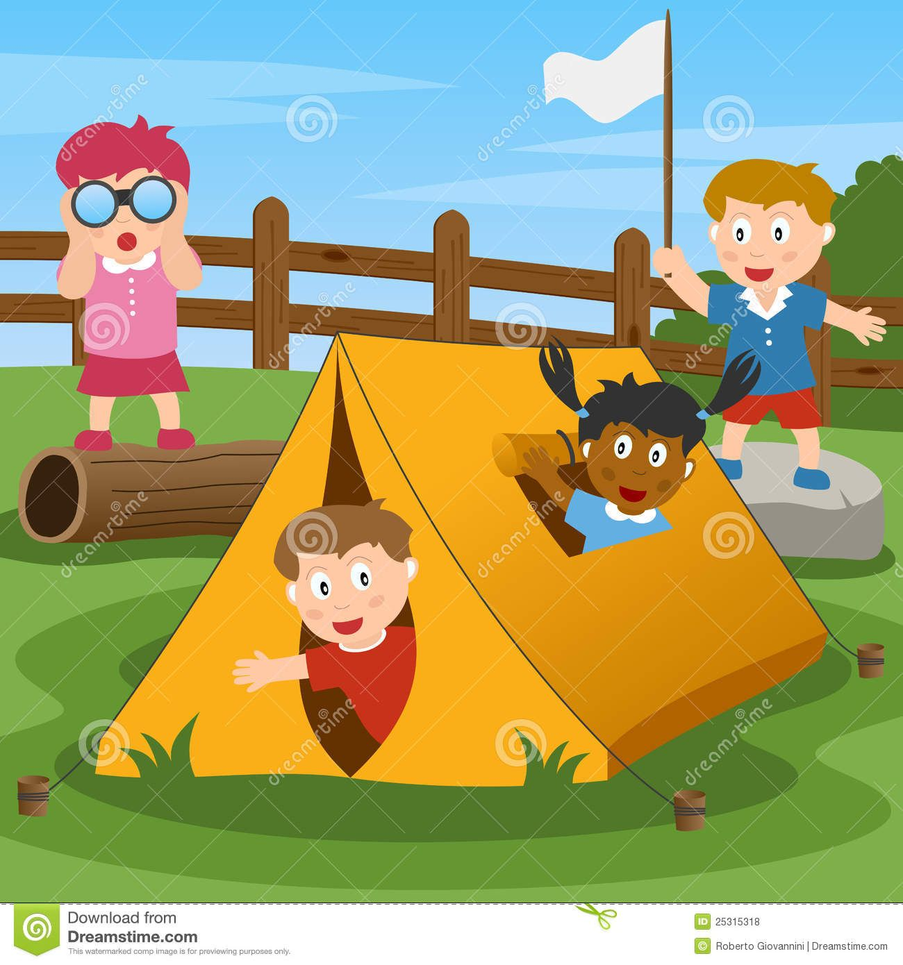 Camping Clipart Child Camp 2 Camping Clipart Camping With Kids