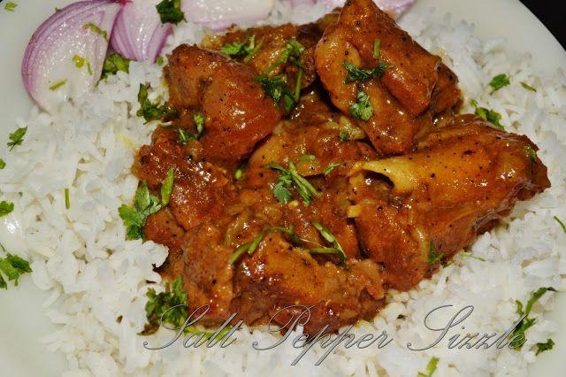 Salt Pepper Sizzle: Nihari mutton (goat) curry