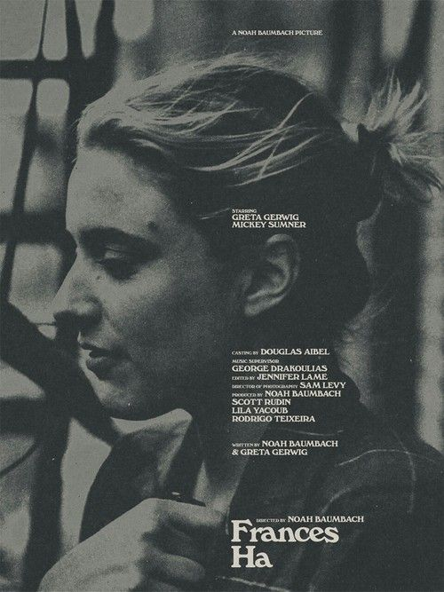 Log In Tumblr Film Posters Art Frances Ha Movie Posters Design