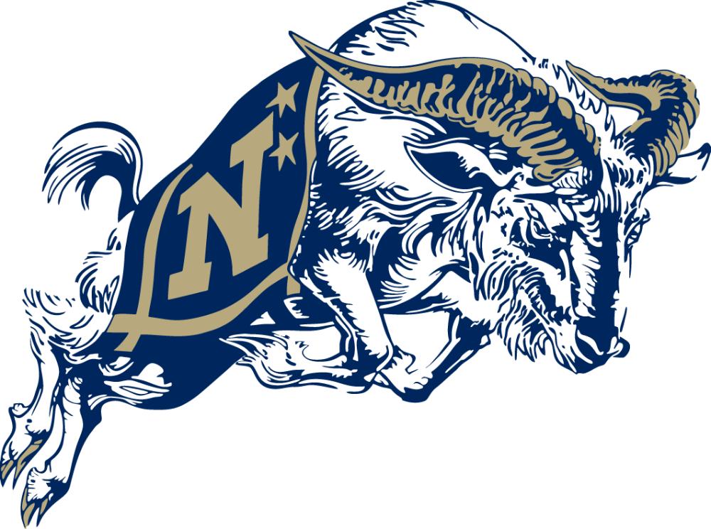 Navy Midshipmen Secondary Logo (1998Pres) in 2020