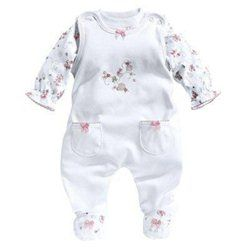 BORNINO Grenouillère avec T-shirt bébé ensemble bébé BORNINO  5a173e8346f