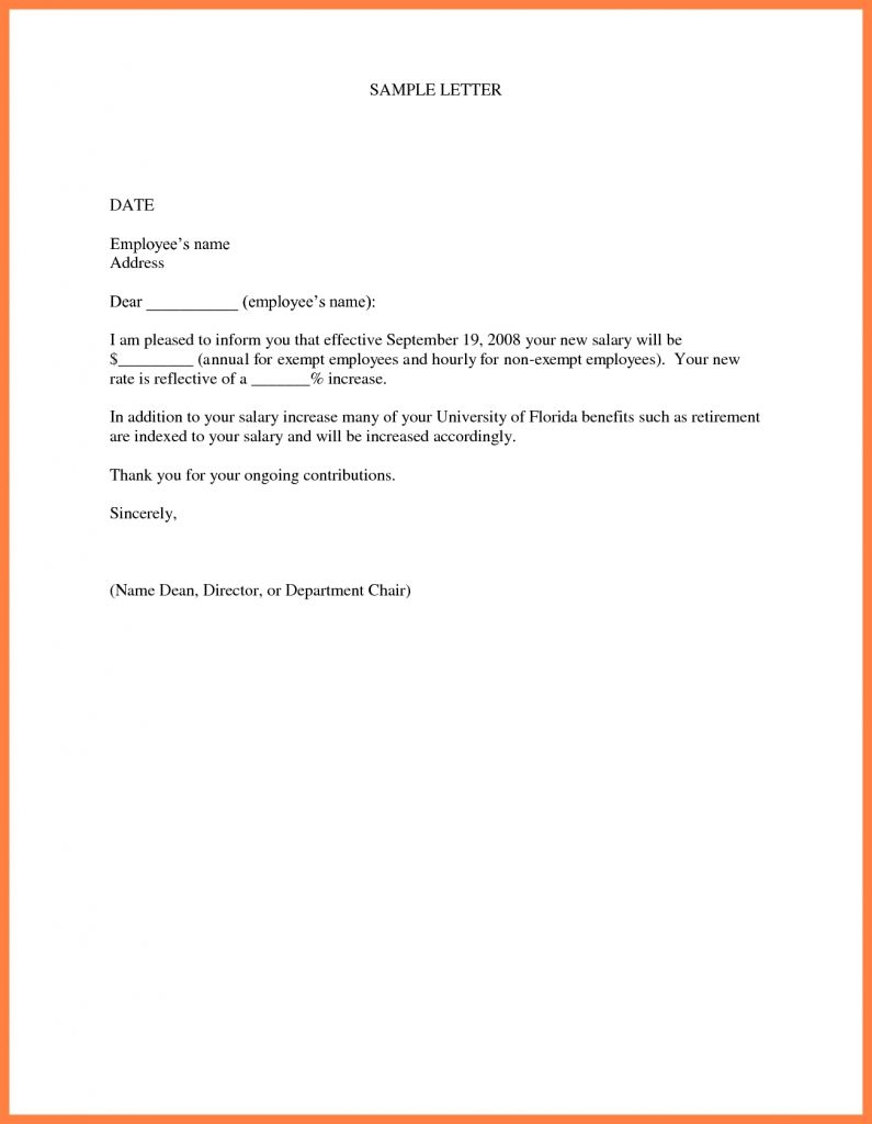 A Letter Composed In The Correct Format Might Approve You The Pay