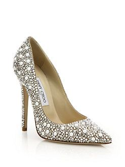75e9a8be7c3 Jimmy Choo - Anouk 120 Crystal-Embellished Suede Pumps