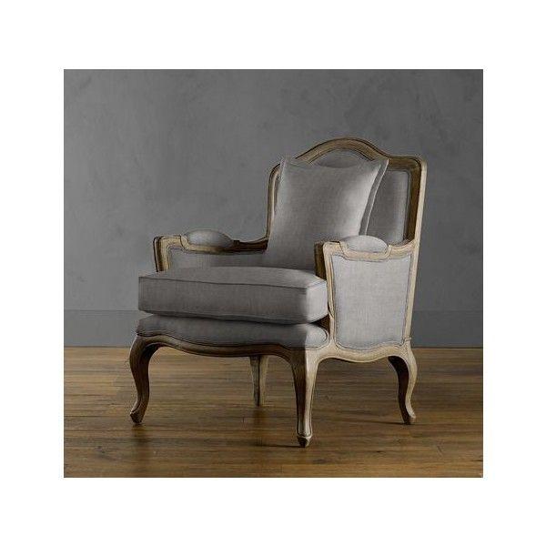 Merveilleux Marseilles Chair | Upholstery | Restoration Hardware ($495) Found On  Polyvore