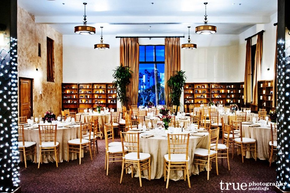A Redondo Beach Wedding at the Library  Coordinated by
