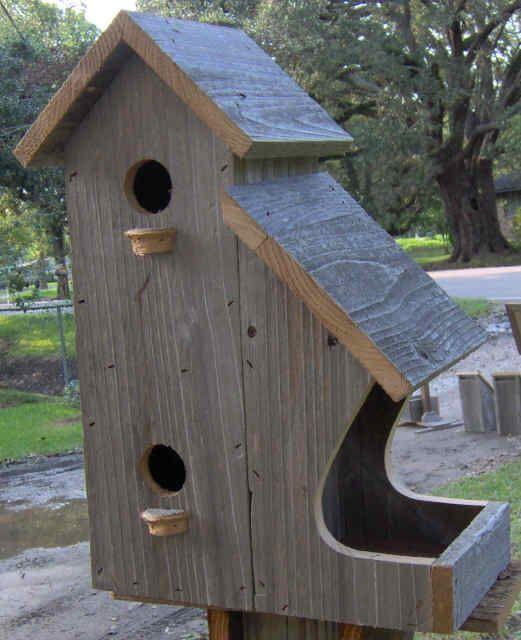 Birdhouse Feeder Craft Ideas Pinte