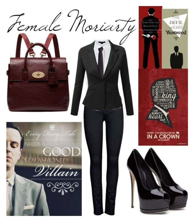 """""""Female Jim Moriarty"""" by miraonthewall789 ❤ liked on Polyvore featuring ONLY, Alexander Wang, Fiorio, J.TOMSON, Mulberry, women's clothing, women, female, woman and misses"""