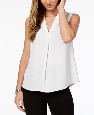 1a3897de86d Shop for Tops online at Macys.com. Nine West s delicate shell lends a  pretty finish to your career collection with a flowing