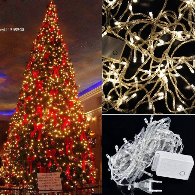 buy 100 led warm white lights decorative christmas party twinkle string from newdressenjoy discount shopping and fast delivery now