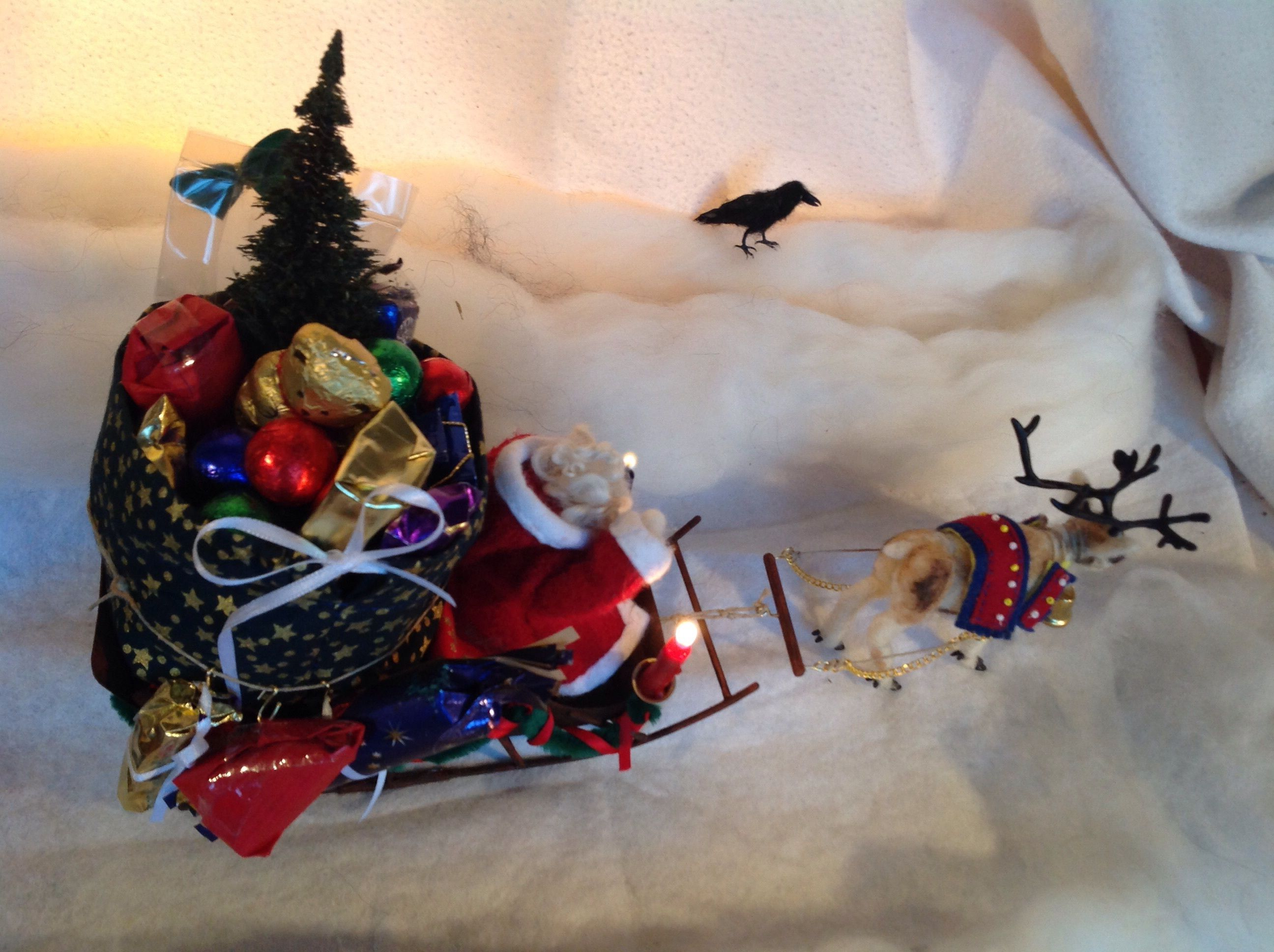 Advent Calendar - Father Christmas' Sledge by Jannis Kernert: JannisKernert.deviantart.com on @DeviantArt