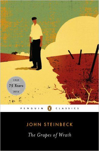 This is Steinbeck's epic tale of the Great Depression and the great Dust Bowl Migration of the 1930s, told through the eyes of one downtrodden Oklahoma farm family. This Pulitzer winner is sweeping and evocative, packed with unforgettable images, bursting with meaning. Powerful and tragic, with