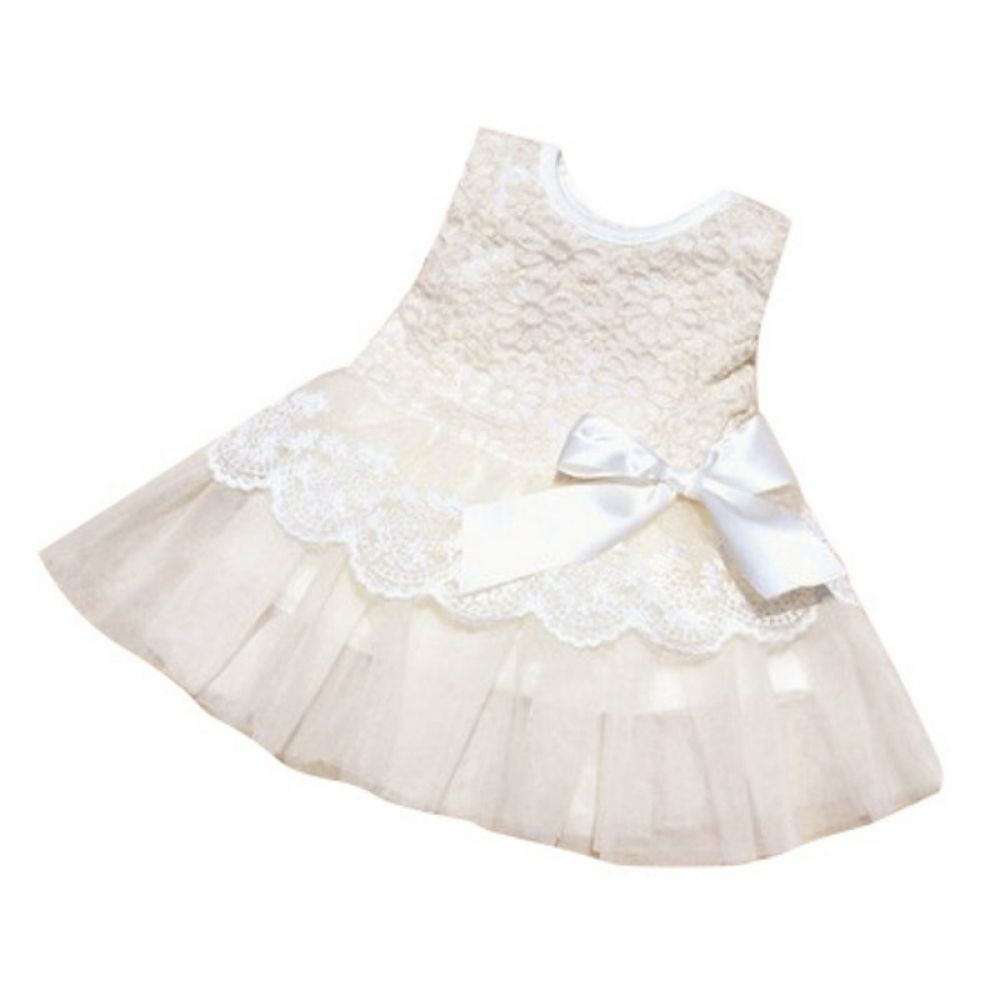 Princess Dresses Summer Baby Girl Dress Lace Sleeveless Vestidos Kids Flower Party Dress For Baby Girl Clothes | www.luvmibaby.com #babygirlpartydresses