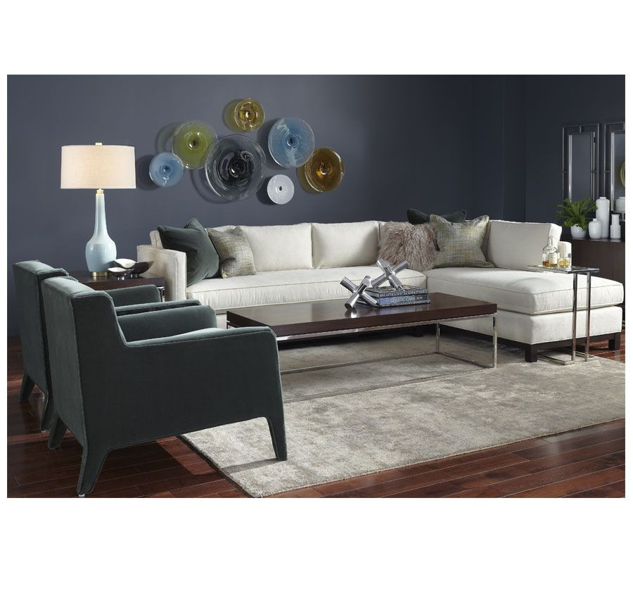 Clifton Collection Mitchell Gold Bob Williams This One Is A Nice Sectional With Left Arm Chaise