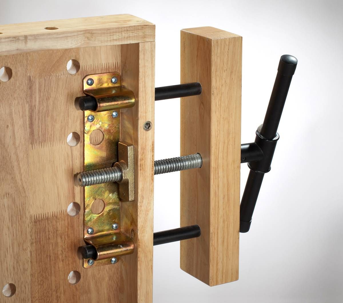 klemmvorrichtung f r hobelbank werktische pinterest hobelbank werkstatt und werkzeuge. Black Bedroom Furniture Sets. Home Design Ideas