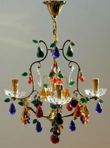 Crystal fruit chandeliers love these wild chandeliers remind crystal fruit chandeliers love these wild chandeliers remind me of colored glass aloadofball Choice Image