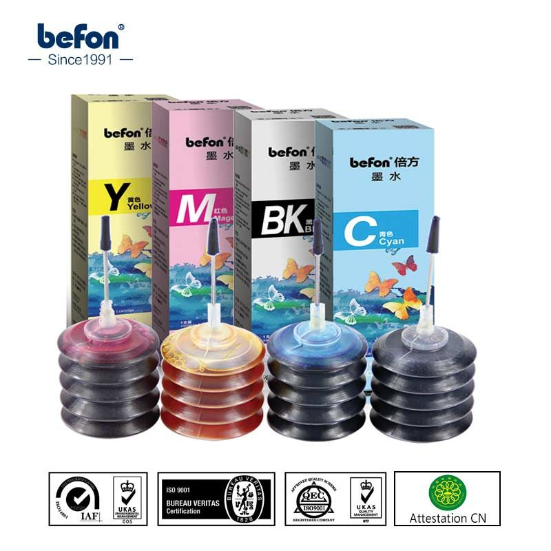 Befon Color Refill Ink Kit 802 803 For Hp 1111 2131 Hp2132 Hp1112