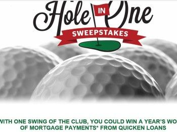 The Quicken Loans Hole In One Sweepstakes Quicken Loans