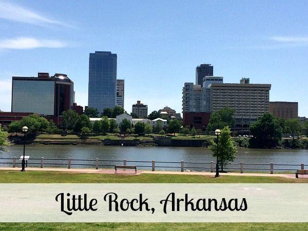 Top Cities in Arkansas
