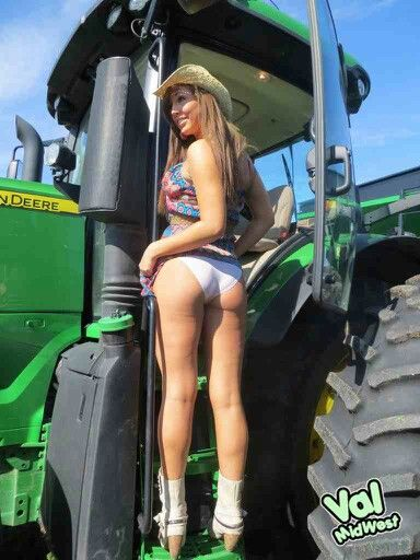 tractor logos with naked girls