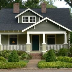 Wonderful Sage Green Roof Cape Cod Style   Google Search · Exterior House  ColorsExterior ... Idea
