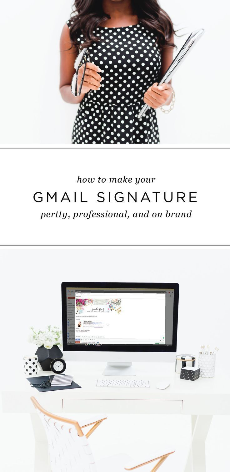 How to Make Your Gmail Signature Pretty Email marketing