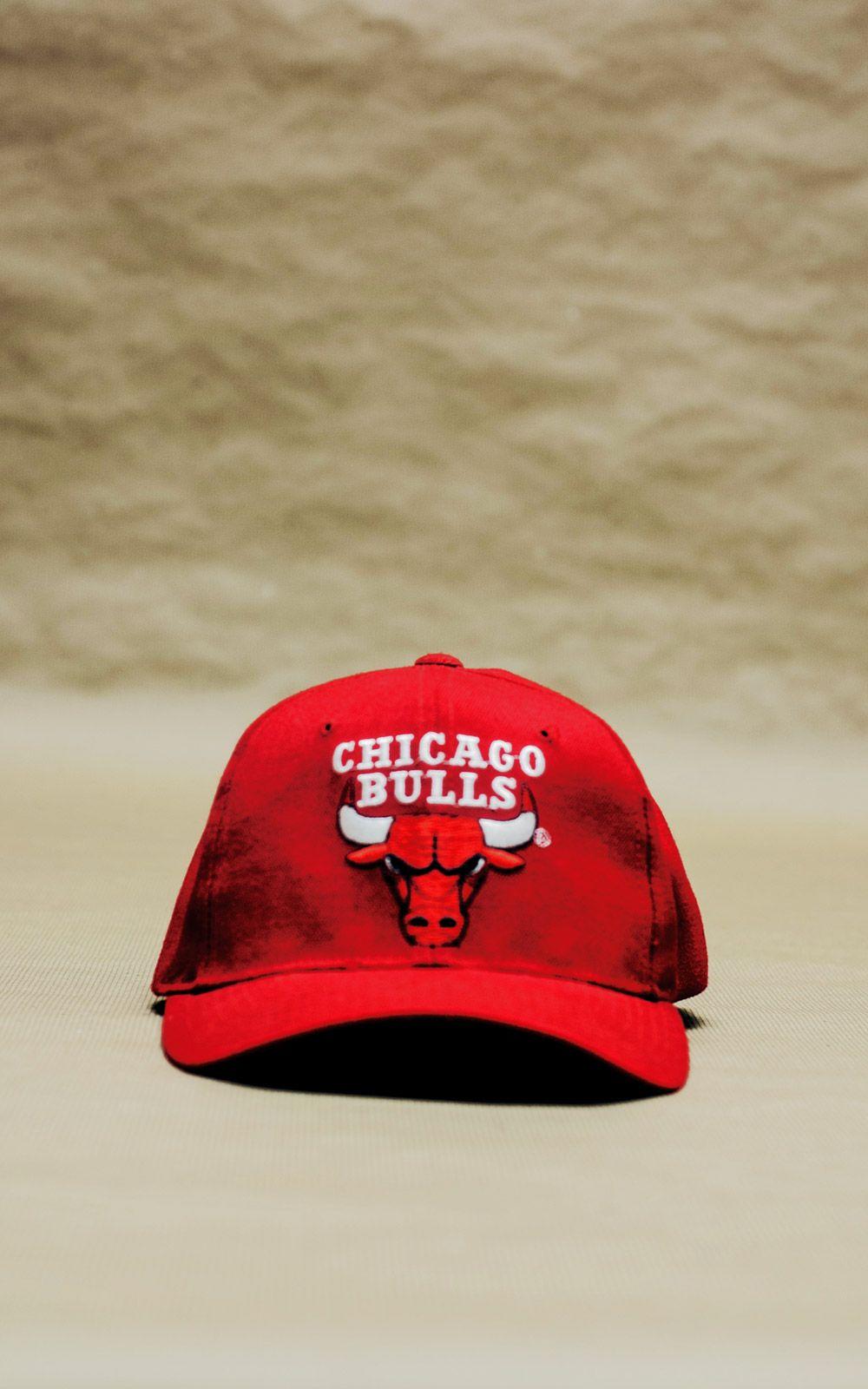 Chicago Cap Bulls Wallpaper For IPhone