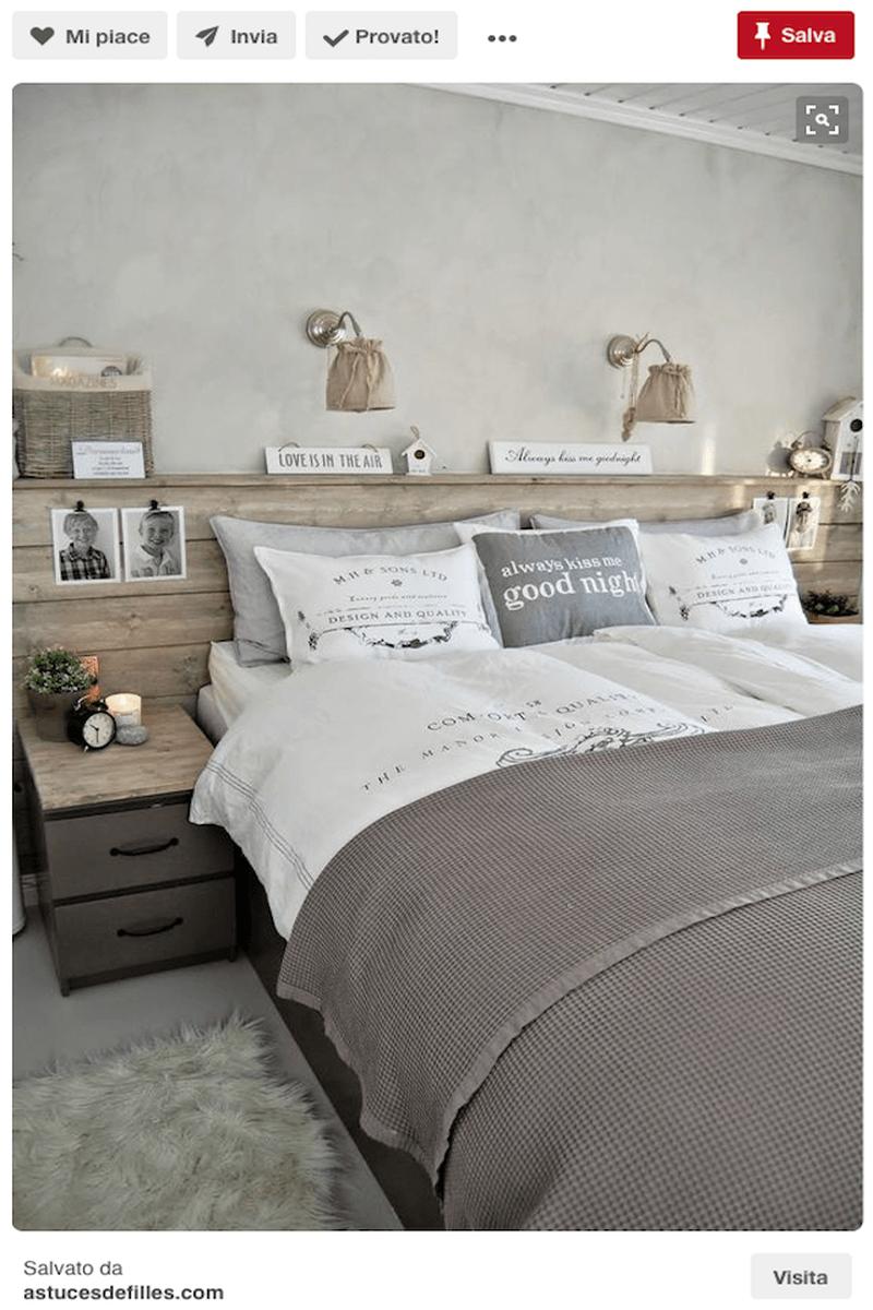Testiera letto fai da te, imbottita, di legno: idee da Pinterest ...