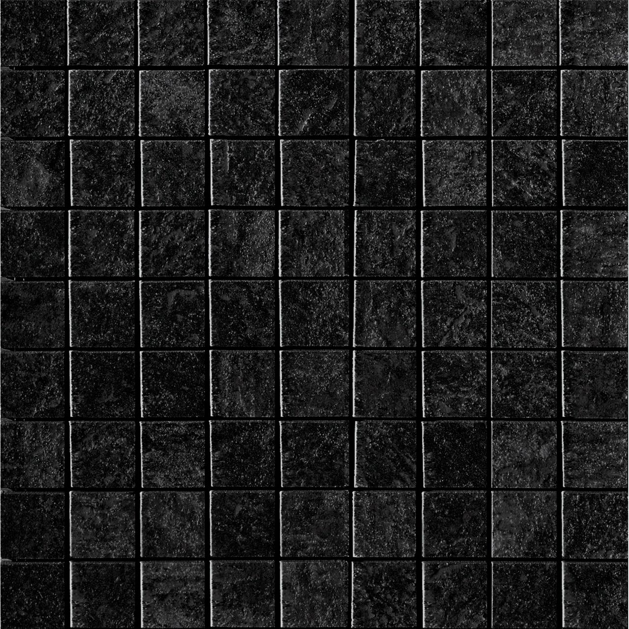 Show Details For Imola Colosseum Black Square Mosaic Wall