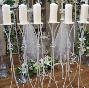 Set Of 6 Aisle Stands To Hire