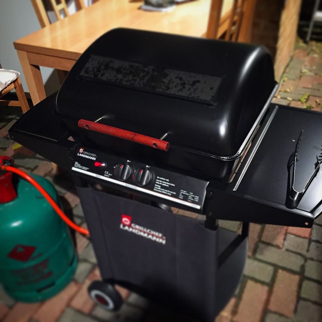 Bought it today put it together and grilled up some burgers. Very happy with this. #BBQ #grill #propane #food #summer