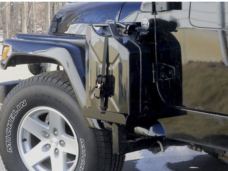 Side Mount Jerry Can Carriers For The Jk Jeep Wrangler