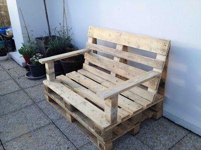 La métamorphose du balcon: Fabrication salon jardin | bricolage DIY ...