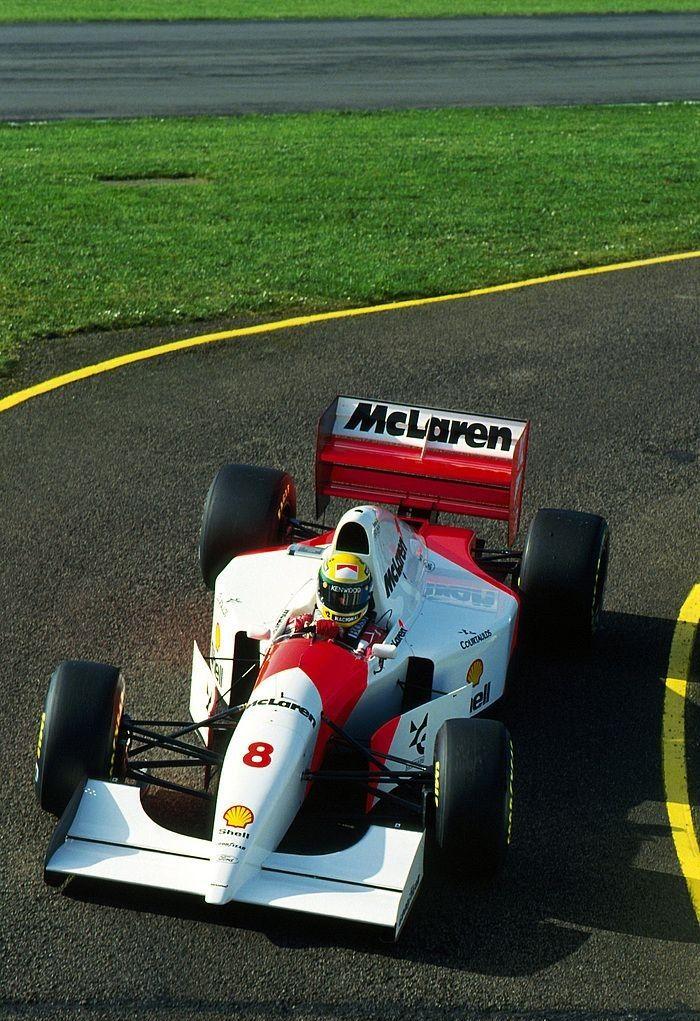 Ayrton Senna, Marlboro McLaren MP48, Ford HBD7 3500cc V8