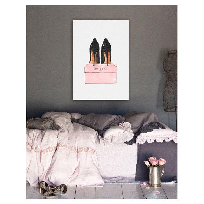 Night Out Stilettos Canvas Print