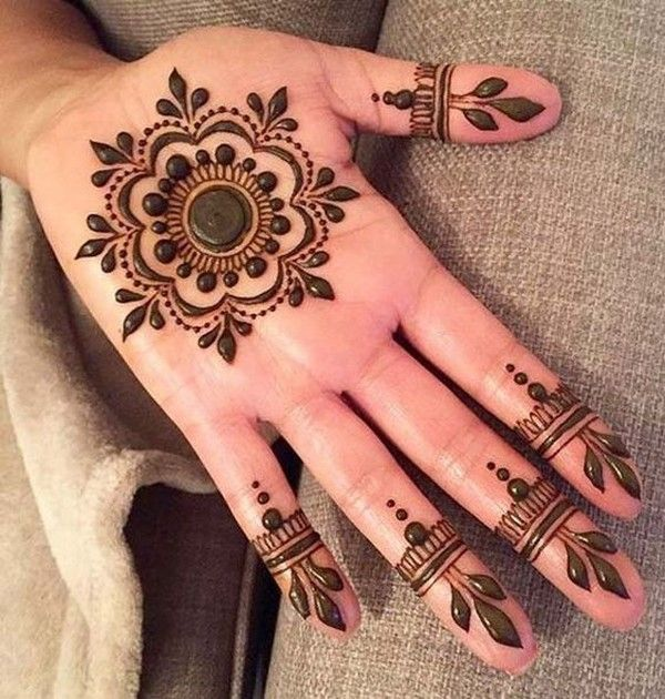 Mehndi designs simple and easy download