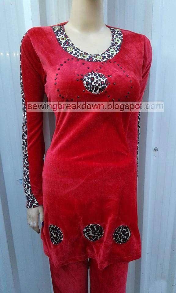 خياطة وتفصيل Pajama Fashion Fashion Outfits Outfits