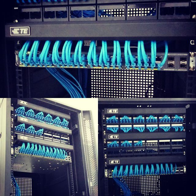 rack #server #standingrack #32u #cablemanagement #cable ... on
