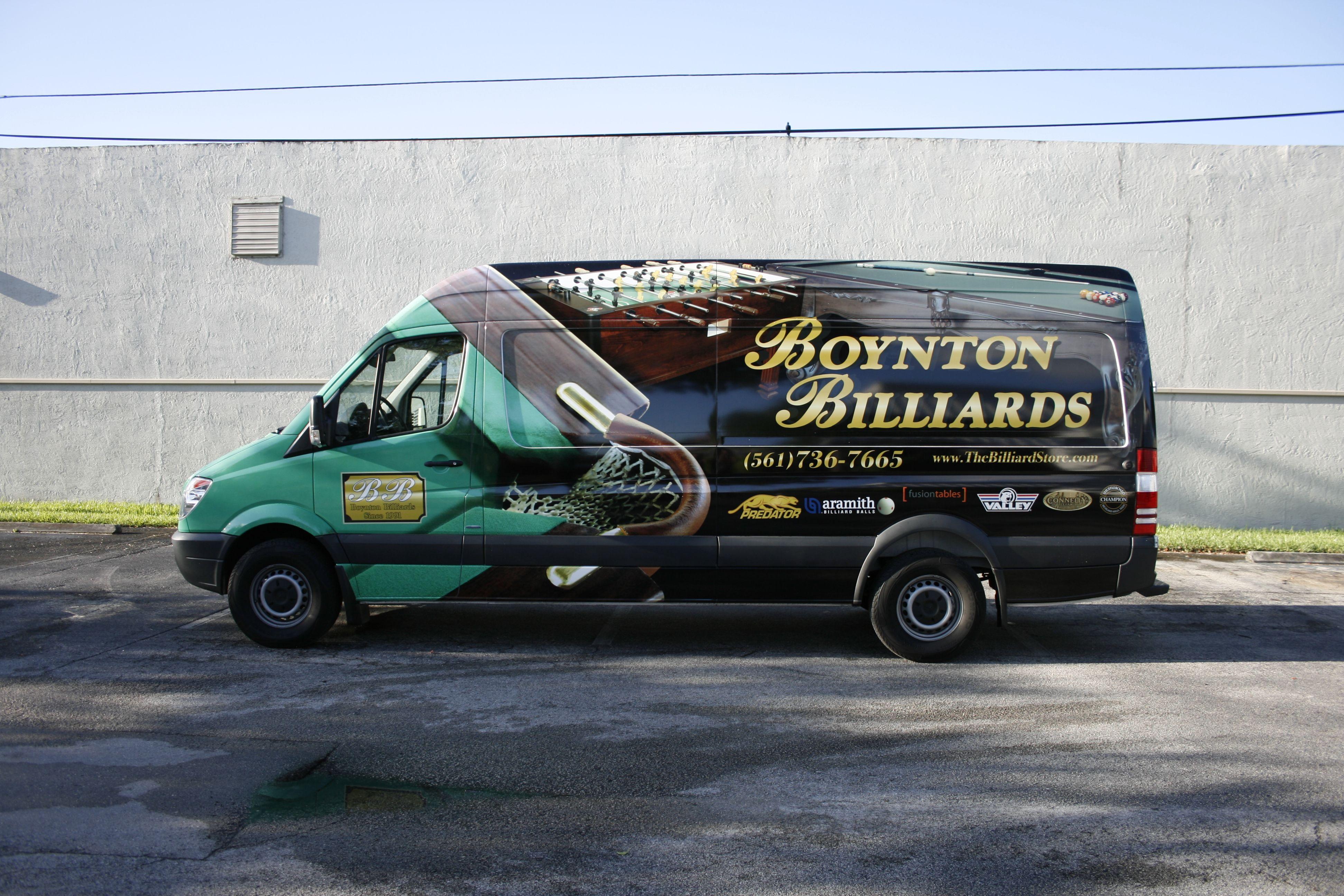 7e3ae27f27 Boynton Beach Florida Mercedes-Benz Sprinter Cargo Vinyl Vehicle Wrap  Graphics http