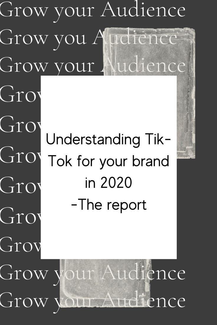 27 Best Grow On Tiktok Images In 2020 Social Media Marketing Strategy Business Social Media Marketing Strategy Business Social Media Schedule Understanding